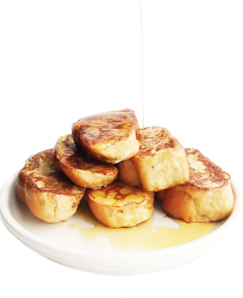 Dairy-free Challah French Toast Sticks