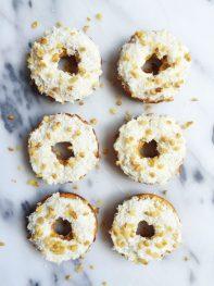 Paleo Carrot Cake Donuts