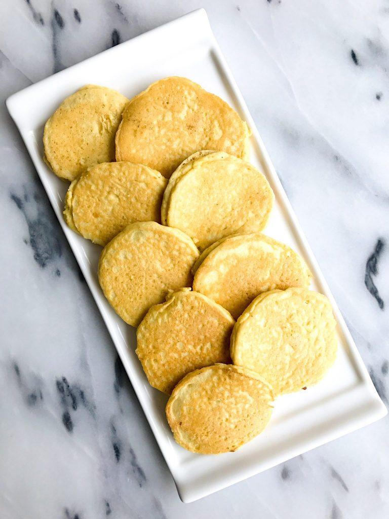 Toasted Almond Grain-free Pancakes