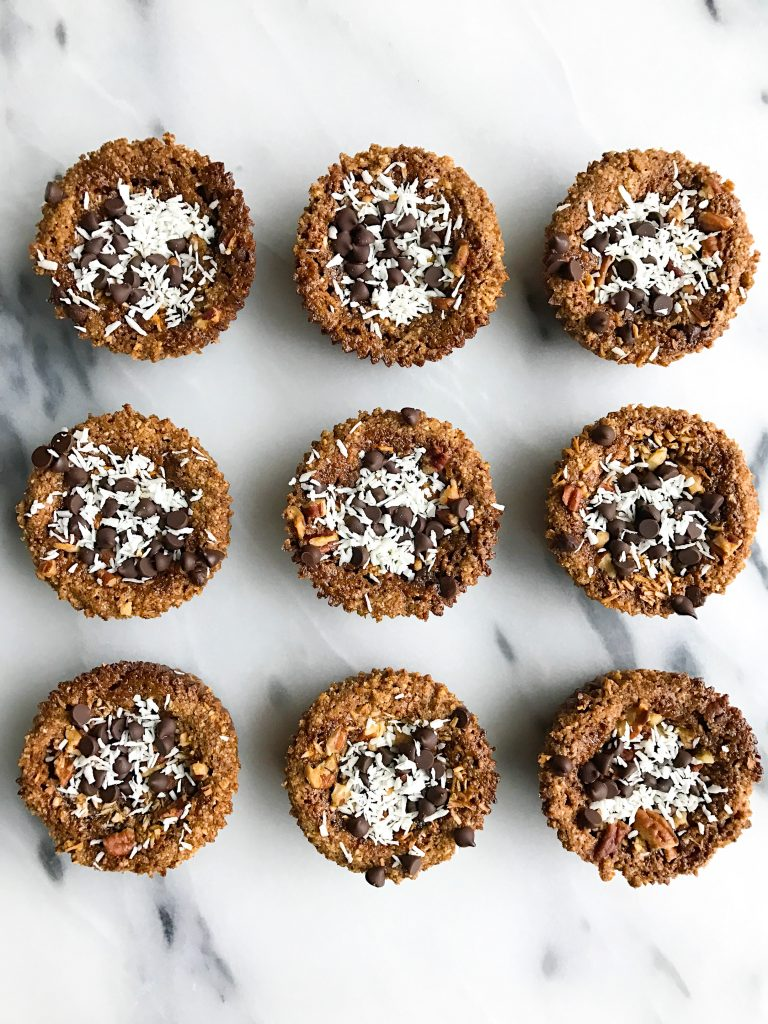 Vegan and Grain-free Magic Cookie Cups for a deliciously healthy dessert!