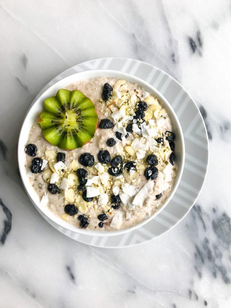 Nourishing Buckwheat Breakfast Pudding for a delicious vegan porridge made with buckwheat!