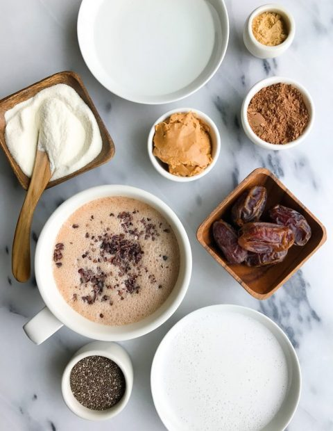 Magical No-Coffee Cacao Collagen Latte