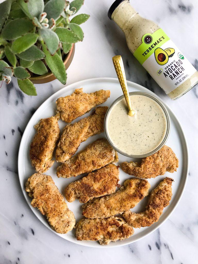 The Best Crispy Avocado Oil Chicken Tenders (paleo)