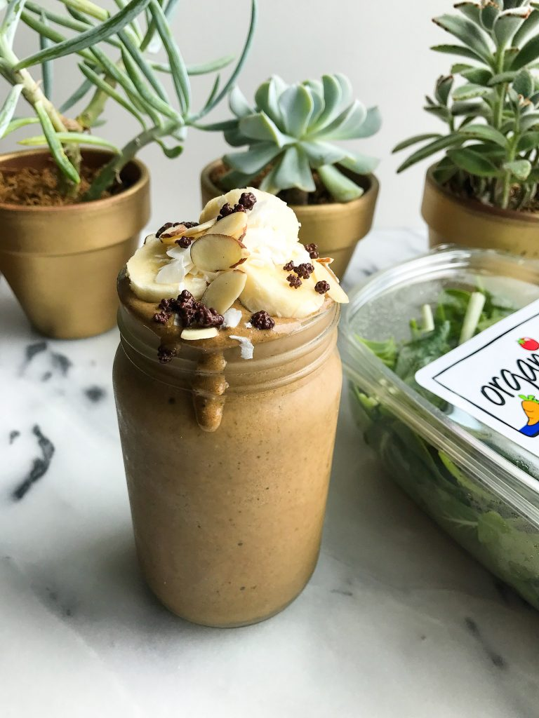My Absolute Favorite Zucchini Bread Smoothie