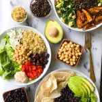 My 3 Favorite Pulse-Topped Lunch Bowls using Chickpeas, Black Beans and Black Lentils!