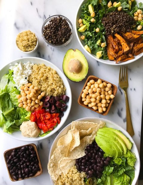 My 3 Favorite Pulse-Topped Lunch Bowls