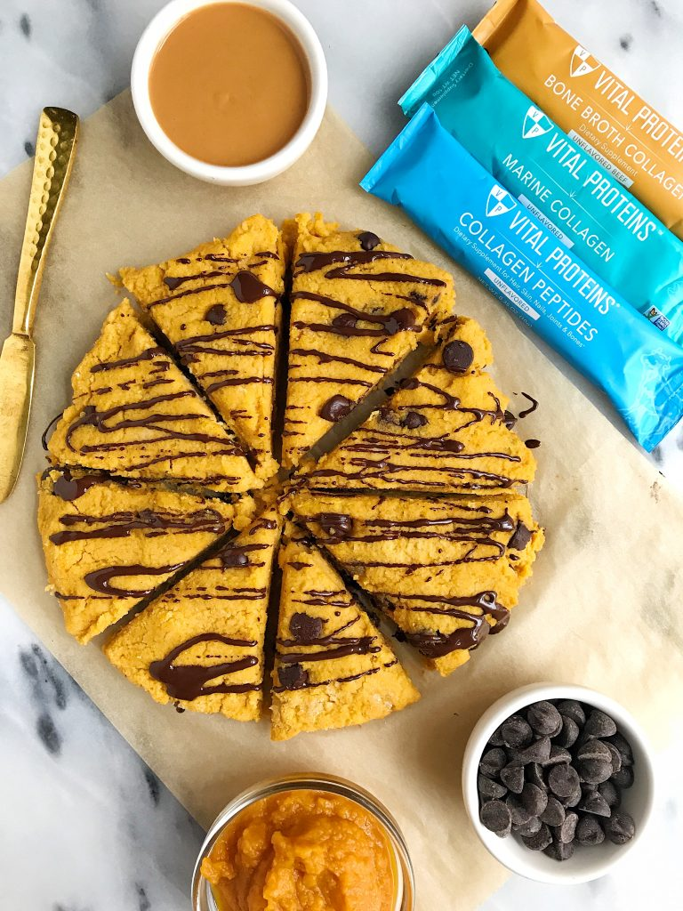 Paleo Chocolate Chip Sweet Potato Scones