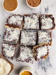 Homemade Paleo Chocolate Crack Bars (vegan + gluten-free)