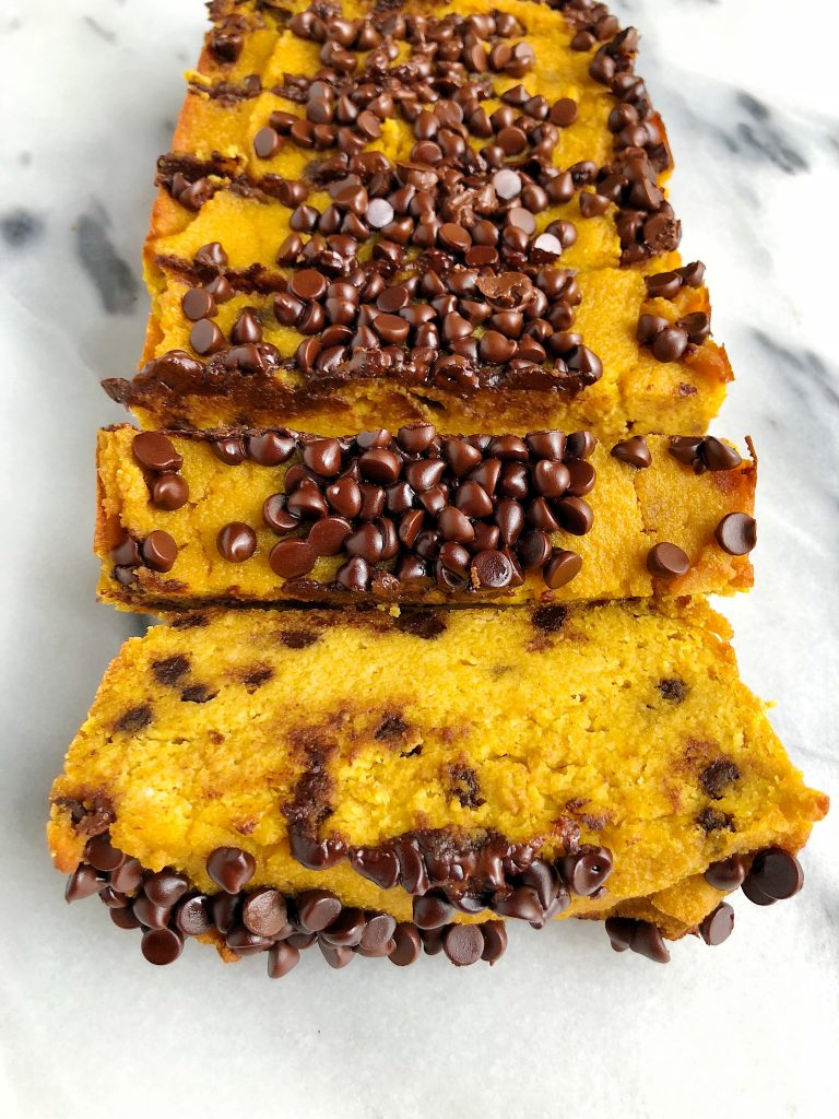 Paleo Chocolate Chip Sweet Potato Bread