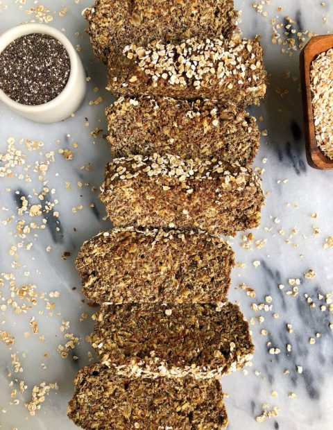 Simply Epic Homemade Flaxseed Bread