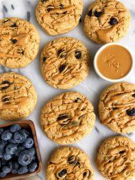 Easy Gluten-free Blueberry Pancake Scones