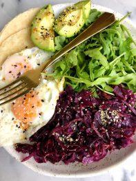 5-minute Savory Breakfast Plate (gluten-free + paleo)