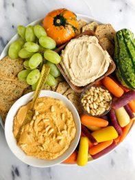 5-ingredient Butternut Squash Hummus (no chickpeas)