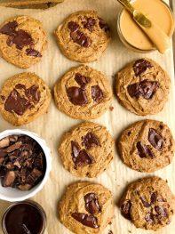 The Best Vegan Peanut Butter Chocolate Chip Cookies