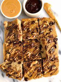 Banana-Sweetened Paleo Breakfast Cake (gluten-free)