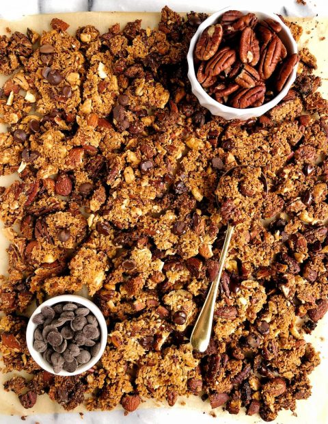 Grain-free Chocolate Chip Granola Clusters Recipe