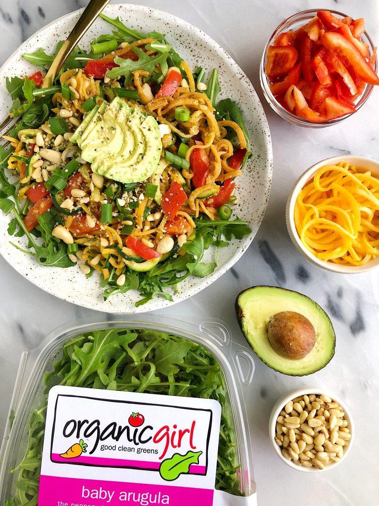 15-minute vegan pad thai noodles (whole30) - rachlmansfield