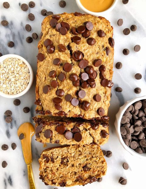 Gluten-free Lactation Chocolate Chip Banana Bread (dairy-free)