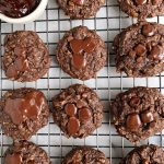 Paleo Pumpkin Chocolate Fudge Cookies