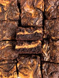 Healthy Gluten-free Cheesecake Brownies (grain-free)