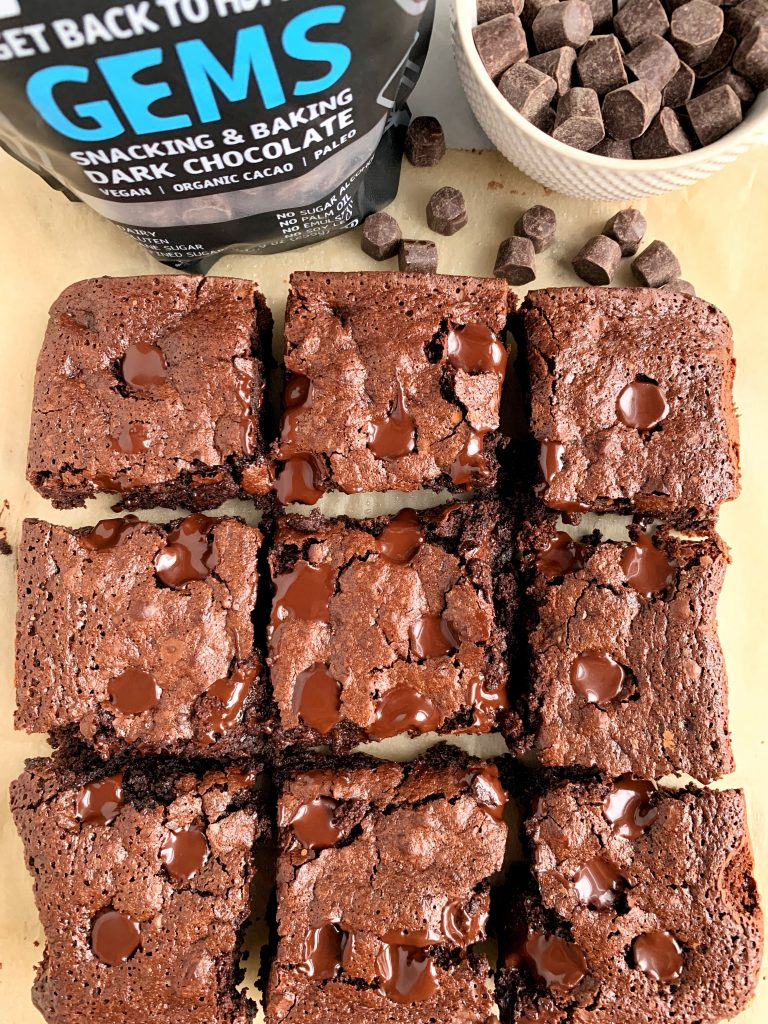 easy fudgey brownies with no flour