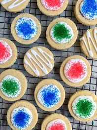 Healthy Classic Sugar Cookie Cut Outs (paleo)