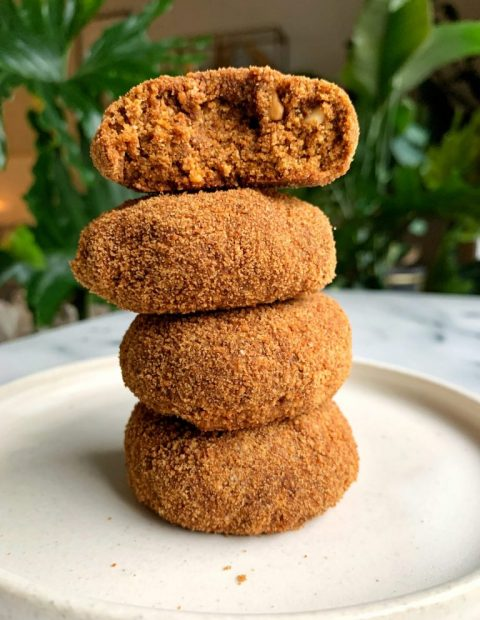 Soft and Chewy Ginger Cookies (paleo + vegan)