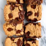 doughy cookie bars