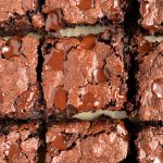 Healthy Flourless Brownies (nut-free + gluten-free)