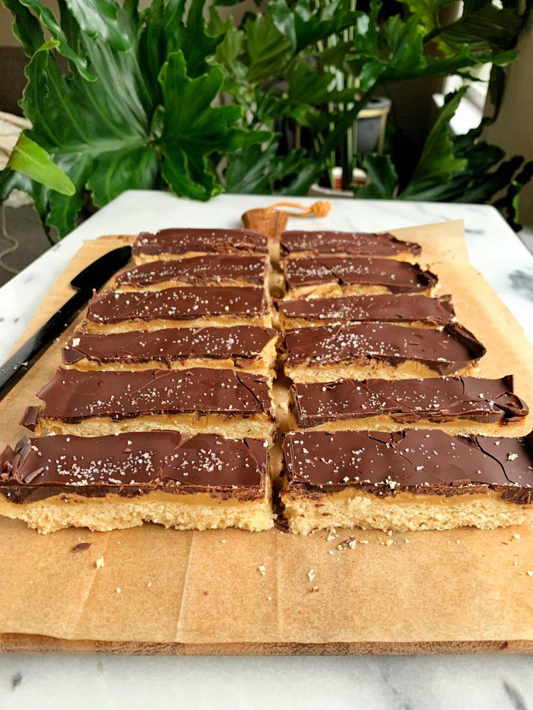 grain free cookie bars
