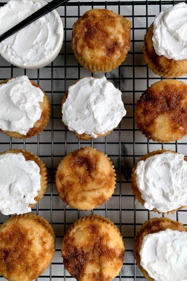 The Best Paleo Cinnamon Roll Muffins