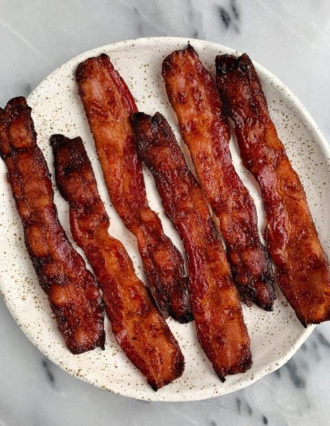 The Best Crispy Oven BACON! (no greasy stove included!)