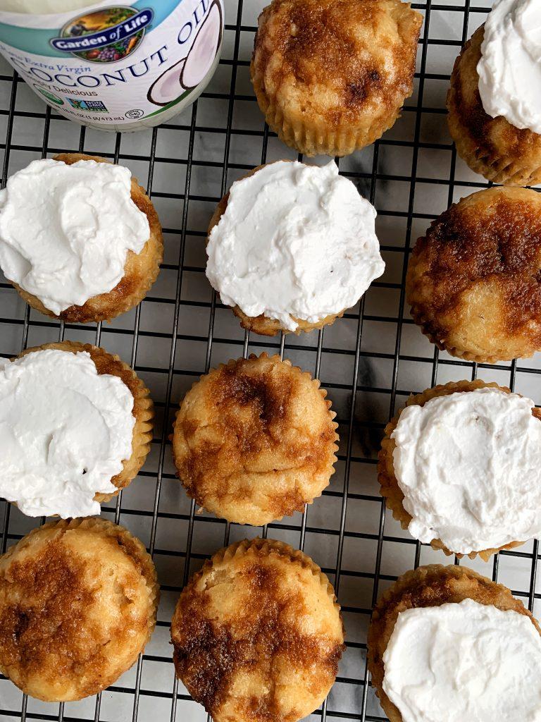 gluten ree cinnamon muffins