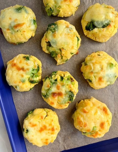 The Easiest Savory Veggie Grain-free Biscuits