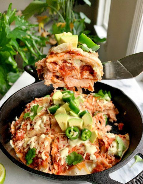 15-minute Gluten-free Enchilada Pie