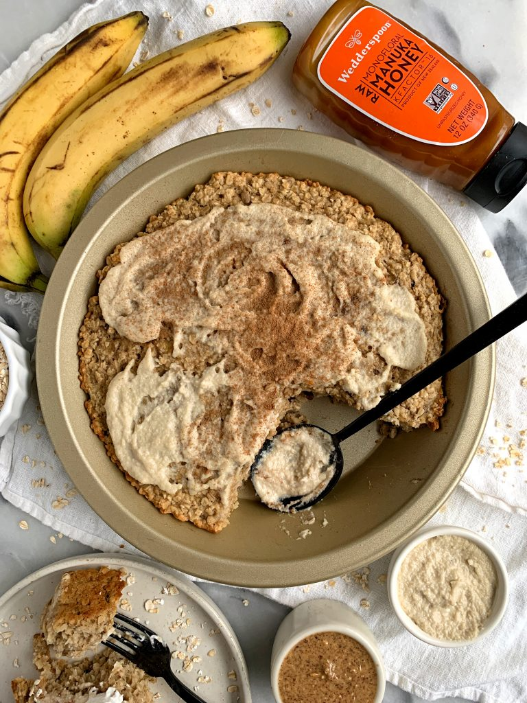 healthy oatmeal bake