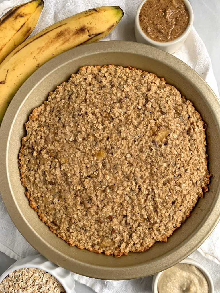 banana maple oatmeal