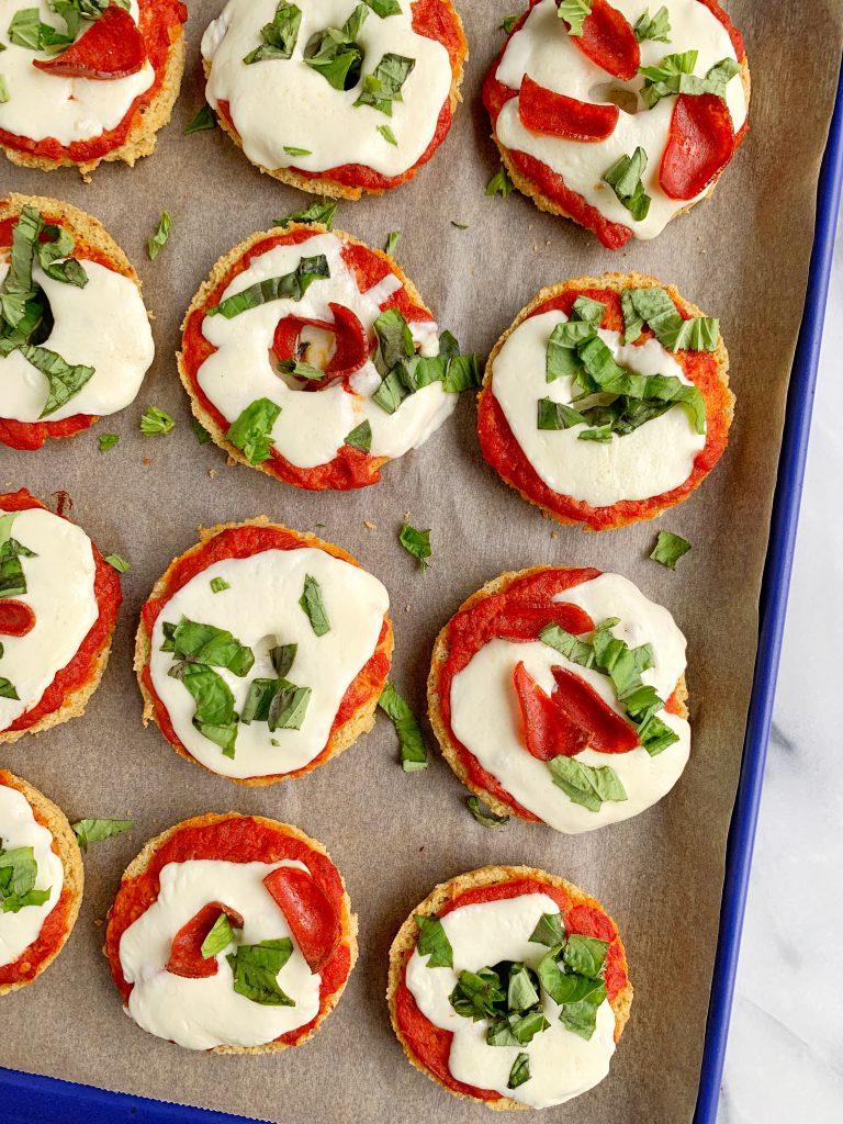 healthy pizza bagels