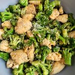 Sharing this super easy Whole30 Chinese Chicken and Broccoli that has quickly become our favorite meal. One skillet, less than 20 minutes and such a delicious and healthy meal.