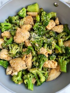 Easy Whole30 Chinese Chicken and Broccoli