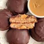 Paleo Homemade Tagalong Girl Scout Cookies