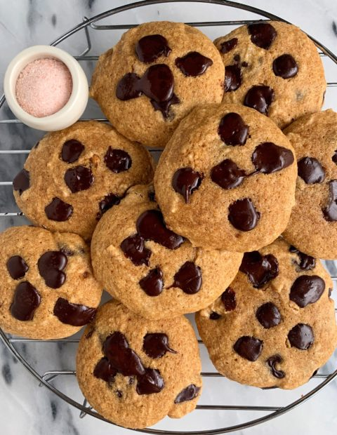 Gluten-free Chocolate Chip Olive Oil Cookies