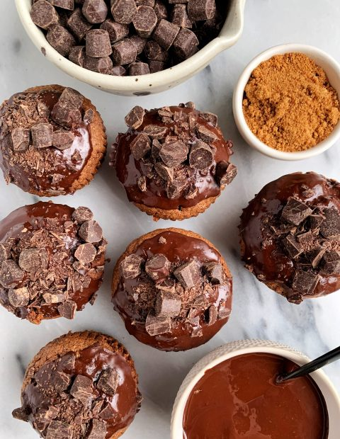 The Best Healthy Gluten-free Chocolate Cupcakes