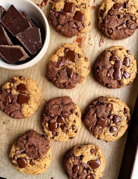Paleo Chocolate Chip Brownie Cookies