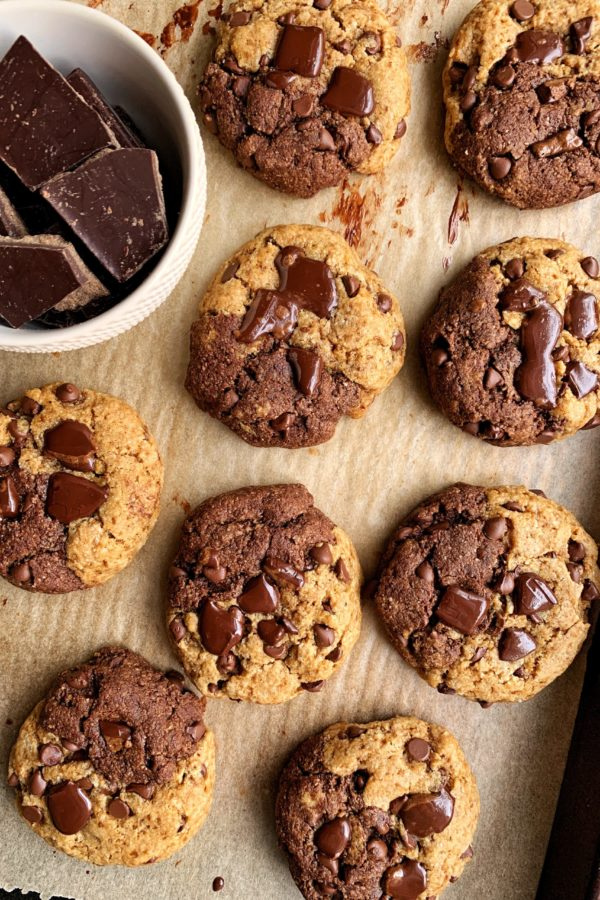 Paleo Chocolate Chip Brownie Cookies