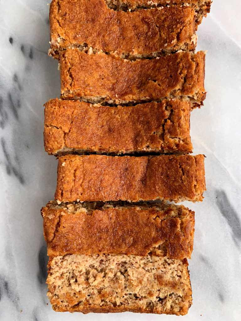 The best vegan and gluten-free Snickerdoodle Bread that tastes like a giant snickerdoodle cookie and is made with all paleo and healthy ingredients.