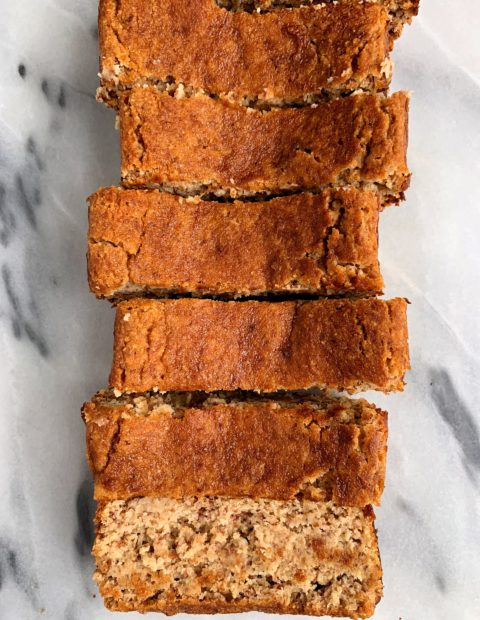 The Best Snickerdoodle Bread (paleo + vegan)