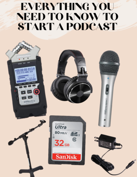 What You Need To Know To Start A Podcast