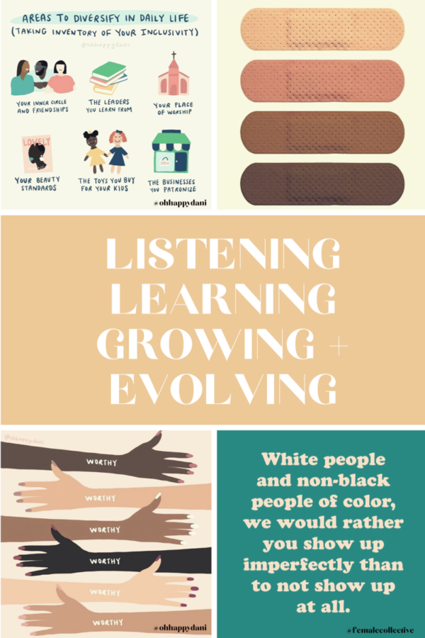 Listening, Learning, Growing and Evolving