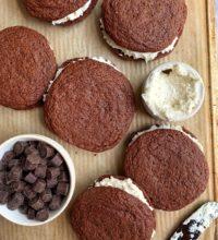 INSANE Gluten-free Oreo Whoopie Pies